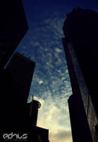City's Sunset by sqak