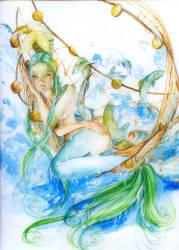 Mermaid by sanguigna