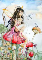 Helena's fairy by sanguigna