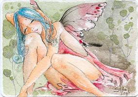 ACEO - Julius fairy by sanguigna
