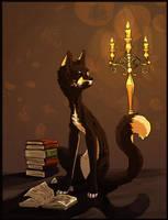 Night reading (comm) by Koviry