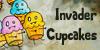 Invader Cupcakes Icon 3 by brandimillerart