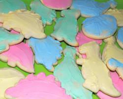 Dino Cookies by brandimillerart