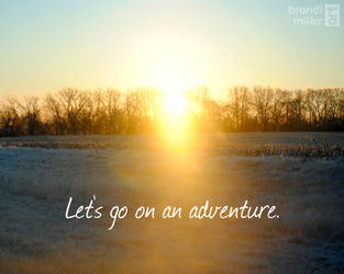 Let's go on an adventure. by brandimillerart