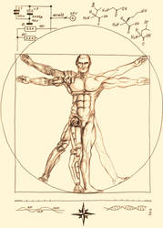 New Vitruvianic-sepia by elende
