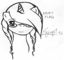Ariet Flag by Hush-Glory