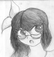 apparently anti-zombie high school girl by Hush-Glory