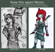 Draw This Again! (Alice) by Hush-Glory