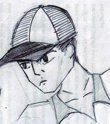 shonen tennis guy by Hush-Glory