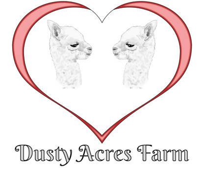 Dusty Acres Farm logo design by Heather-Ferris