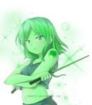 SU OC: Jade by Frappe7