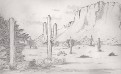 desert by melydia