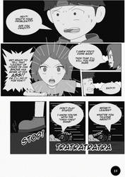 Page from my manga by GraphicReality