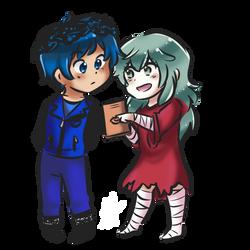 (COMMISSION) Katashi and Eto by SmartasticalArt