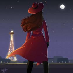 La Femme Rouge by SmartasticalArt
