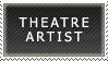 Theatre Artist Stamp by jmansker