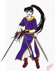 samurai girl by spanish-deviants