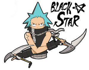 Black Star +SOUL EATER+ by spanish-deviants