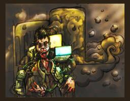 Cloverly, Z-cyborg 3'X by MechanicalRaven