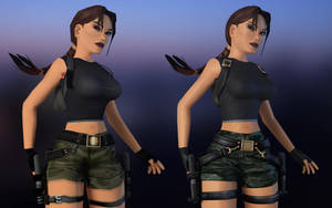 The Angel of Darkness - Lara Remade by Shyngyskhan