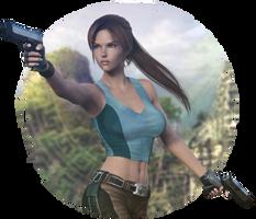 Lara render by Shyngyskhan