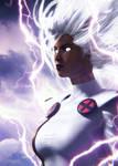 X-Men | Storm 90s by Shyngyskhan
