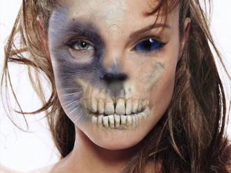 Scary Angelina by JeremiFrenette