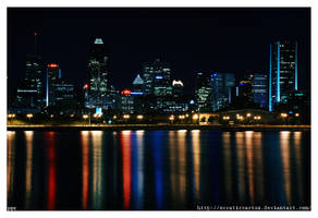 Montreal Skylines by erraticcactus