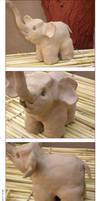 Clay-Elephant by zamir