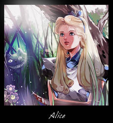 _Alice in Wonderland_ by Athena-chan