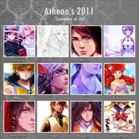 2011 Summary of Art by Athena-chan