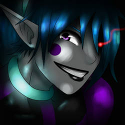 Dark Prince's Grin by Eve-Of-Halloween