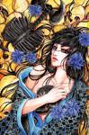 black skull by RudeOwl