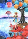 MIRROR LAKE by RudeOwl