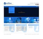ONELINE website design by ohmto