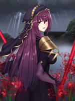 scathach by Faucon320