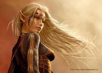 High Elf Female Avatar by Graysun-D