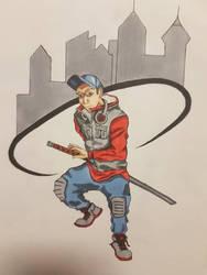 Street Samurai by Tron06