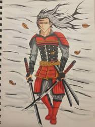 Samurai wind colour. by Tron06