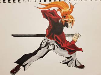 Kenshin Himura by Tron06