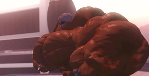 The beast is back by GameGirlPower