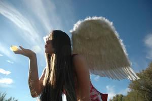 Angel 14 by Lynnwest-Stock