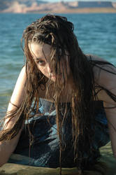 Lake Girl 01 by Lynnwest-Stock