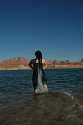 Lake Girl 04 by Lynnwest-Stock