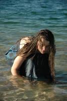 Lake Girl 11 by Lynnwest-Stock