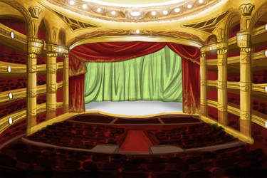 [JOCT] - Flusselles Memorial Theatre by LucarioGirl4Ever