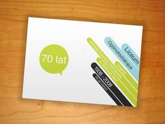 Zaproszenie - Invitation card by bisek0