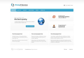 SimplyIT Services by bisek0