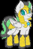 Commission - Emerald Bolt by Sapphfyr