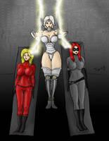 Robot Superheroines by Trishbot